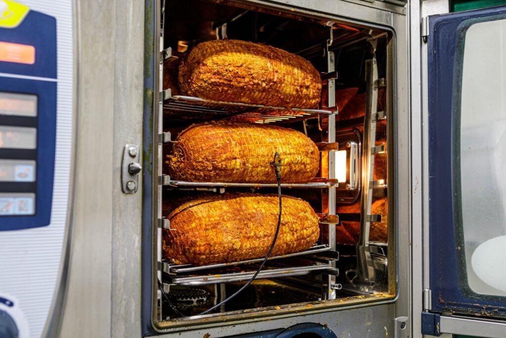 Kiprollades in de oven